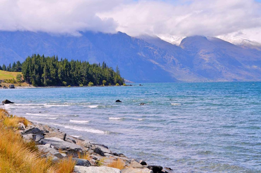 Queenstown Lake Wakatipu Wanaka, ein Traum in Blau, Südinsel Neuseeland South Island New Zealand Foto: ceyourgoals