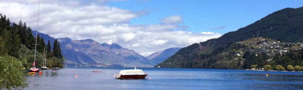 Queenstown, Lake Wakatipu, Wanaka, South Island, New Zealand, Südinsel, Neuseeland