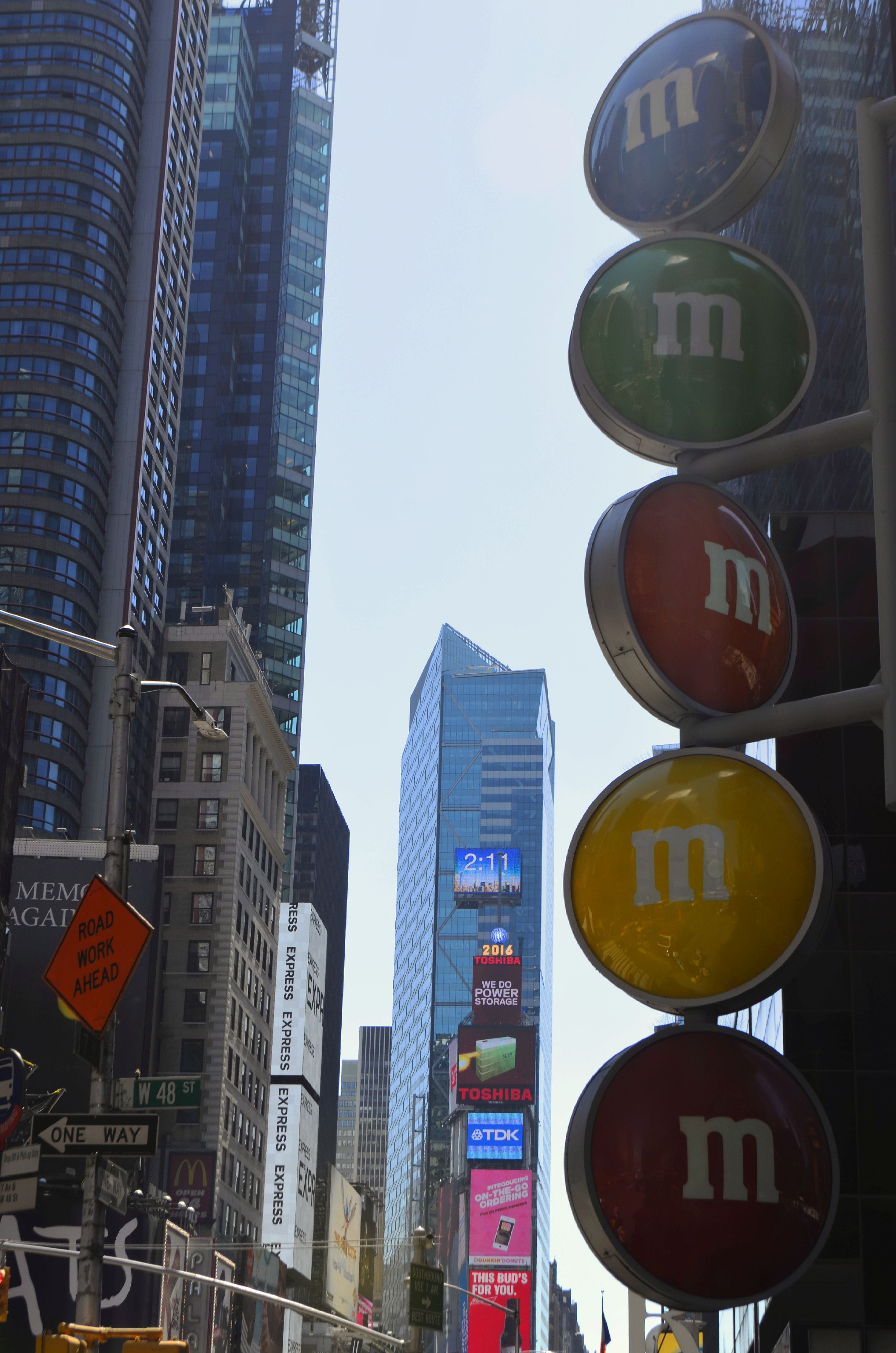 M&M Store NY, Times Square New York City, Sehenswürdigkeiten Manhattan, top 10 sehenswürdigkeiten, travelguide new york, travelblog, travel, lifestyleblog, blogger © ceyourgoals 2016