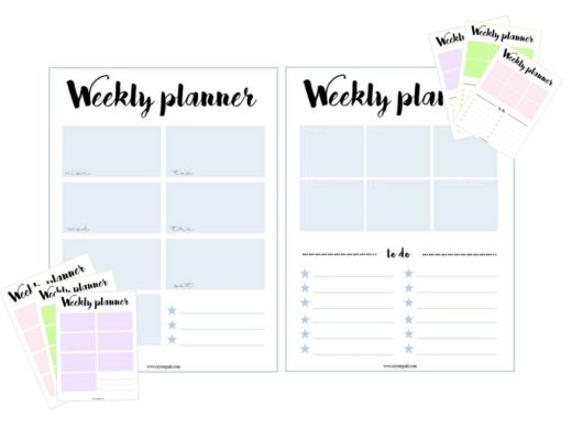 weekly planner free printable, weekly planner free download, to do list free printable, to do list free download, wochenplannerkostenloser download,to do liste vorlage, free printable, weekly planner pdf, pdf wochenplaner, lifestyle, lifestyleblog, blogger, design © http://ceyourgoals.com, ceyourgoals by Celine 2017